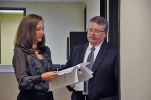 Image of attorneys conferring
