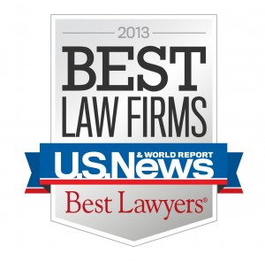 Image of Best Law Firms badge